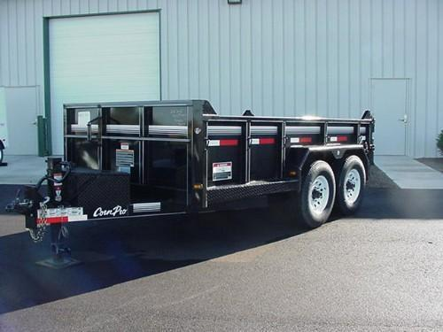 "CornPro  6'9"" x 12' 10K Lo Profile Light Duty Dump w/Ramps  in Ashburn, VA"