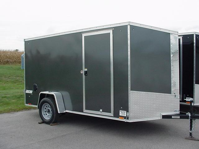 "Pace American Journey SE 6' x 12' w/ Ramp w/Ramp Extension / 6"" Extra Height"