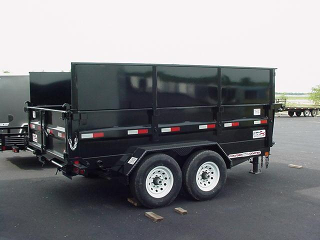 Liberty 14k Low Profile 83 X 14 DumpW/ 44 sides Dump Trailer