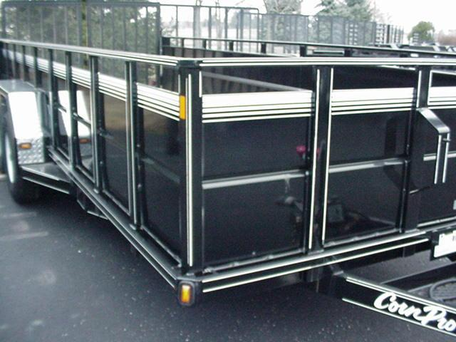 "CornPro 79""x18' High Sides 10K w/HD Split Mesh Ramps"