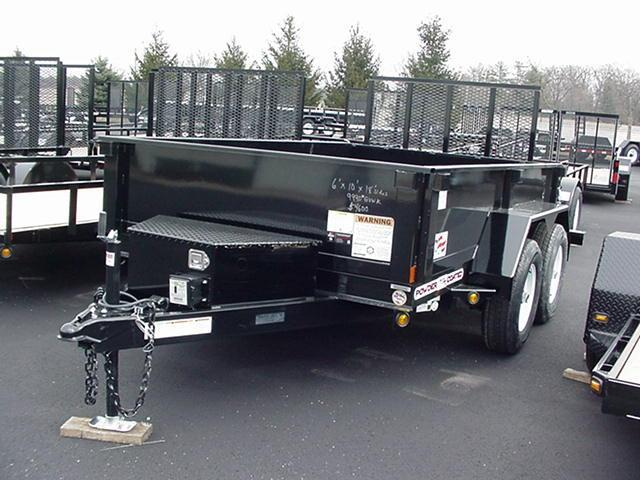 "Liberty 83"" x 14' 14K Dump w/ Ramps Tarp  Battery"