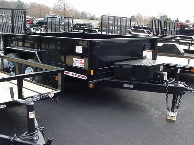 "Liberty 83"" x 14' 14K Dump w/ Ramps Tarp  Battery"