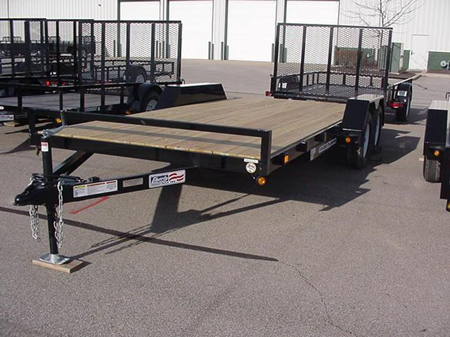 Liberty SA 82 x 12  Channel Frame Utility NO RAILS  w/ Mesh Ramp