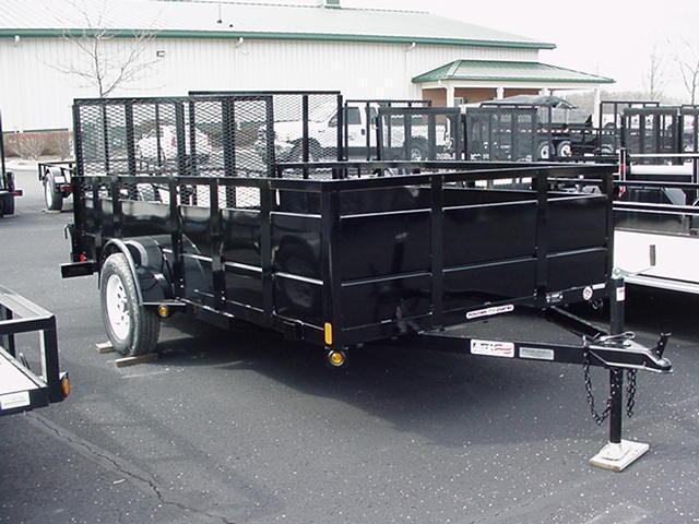 "Liberty   6 x 12 SA Angle Frame w/30"" Solid Steel Sides/Angle Rail/HD Spring Assisted Mesh Ramp in Ashburn, VA"