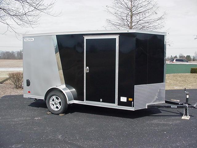 "Haulmark HMVG612S 5000 6'x12' V Nose w/ Ramp +6"" Height TwoTone in Ashburn, VA"