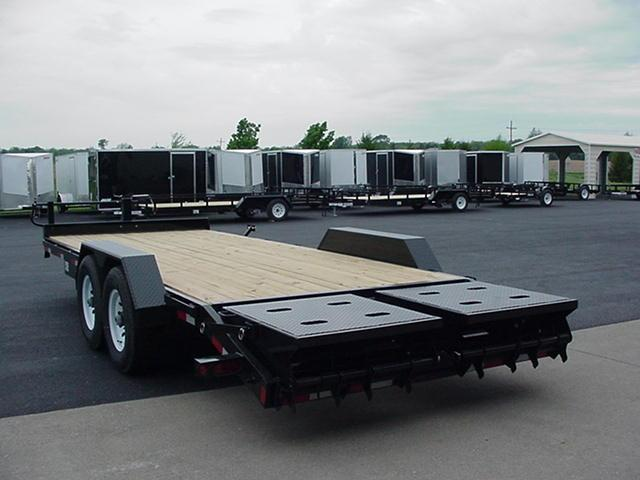 Liberty LE14K83X20C46 14K 20' w/ Wedge Ramps Equipment Trailer