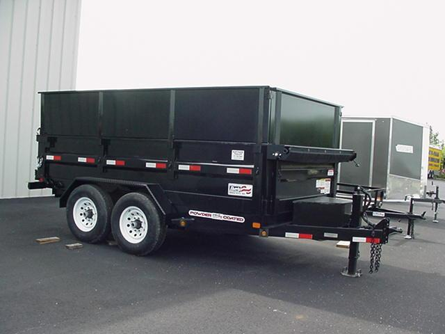 "Liberty 83"" x 12' 14K  Dump w/ 48"" Removable High Sides w/ Ramps Tarp  Battery"