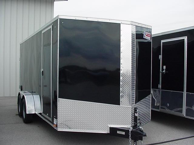 """Pace American Journey SE 7' x 16'w/Ramp/Ramp Extension/ +12"""" Extra Height"""