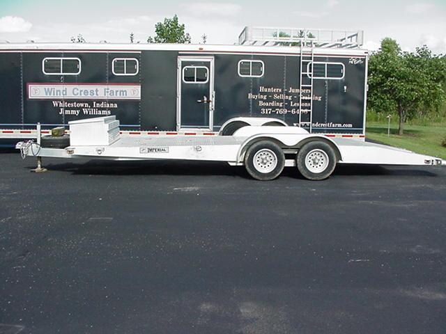 1998 Imperial 18 4 Carhauler Car / Racing Trailer