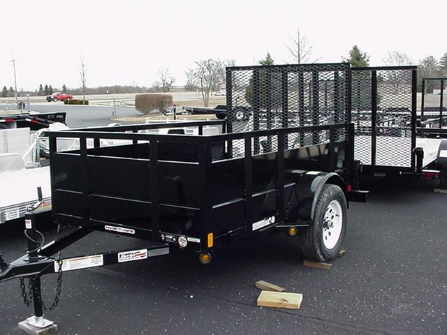 "Liberty  5x8 SA Angle Frame w/30"" Solid Steel Sides/Angle Rail/HD Spring Assisted Mesh Ramp in Ashburn, VA"
