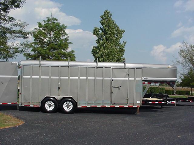 2012 CornPro Trailers CG-20-7H Cargo GN Enclosed Cargo Trailer