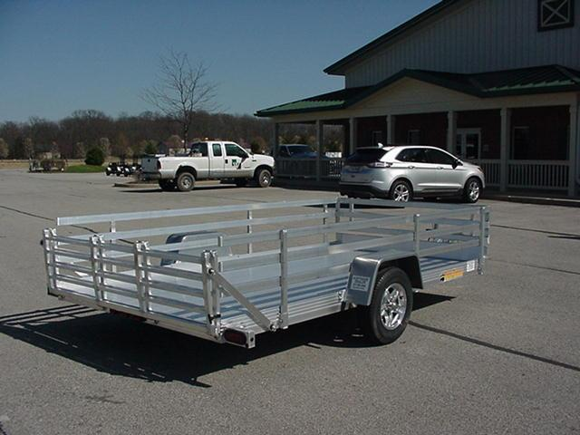 Bear Track   76 x 12 Aluminum w/   Bi-Fold Ramp