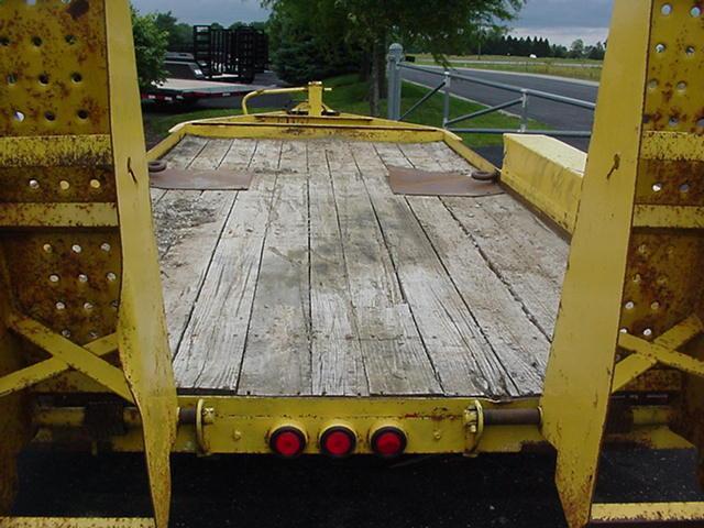 2008 Belshe  81 x 16 Belshe BP 12K   Equipment Trailer
