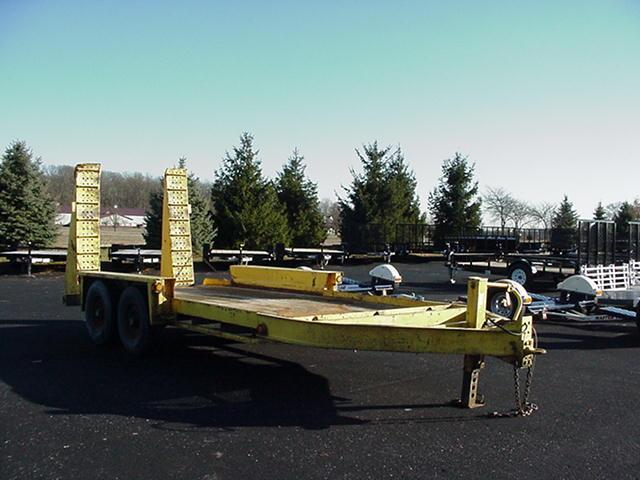2008 Belshe  81 x 16 Belshe BP 12K   Equipment Trailer