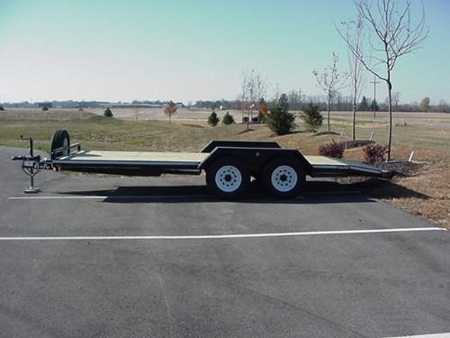 "CornPro 81""x 18'6"" 7K Carhauler w/ Self Storing Ramps in Ashburn, VA"