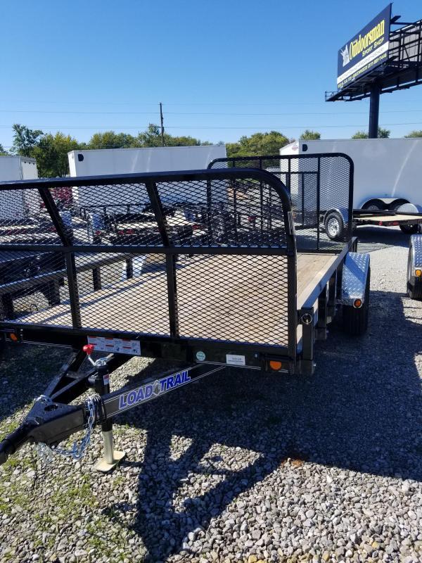2018 77x12 Load Trail SB77 Utility Trailer - w/ 4' Fold-up Gate (GVW: 3000) *Front Fold Gate*