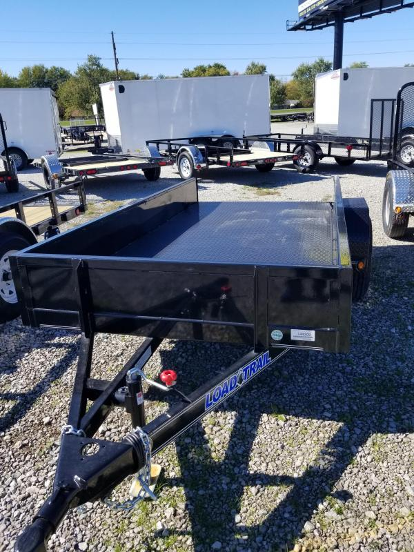2017 5x10 Load Trail SB60 Utility Trailer - Straight Deck (GVW: 3000) *Steel Floor*