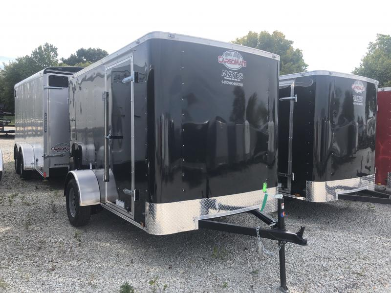 2020 6x10 SA Cargo Mate SS610SA Enclosed Cargo Trailer - Double Door - 6 Inch Additional Height - .030 Metal Upgrade (GVW:  2990)