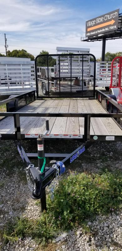 2018 72x12 Load Trail SE Utility Trailer - w/ 4' Fold-up Gate (GVW: 2990)
