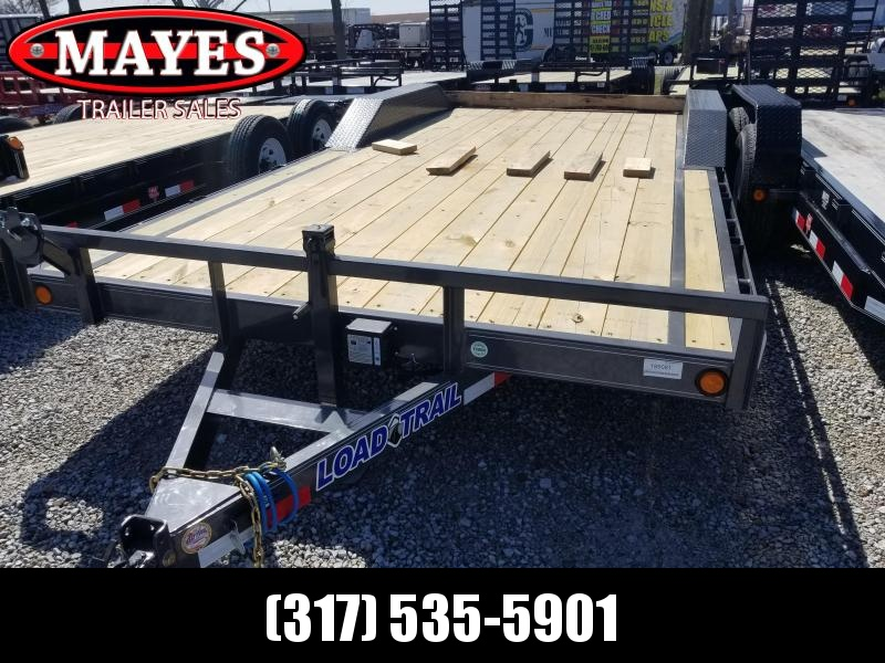 "2019 102""x20' (18+2) Load Trail CH0220052 Car / Racing Trailer - Slide In Ramps (GVW:  9990)"