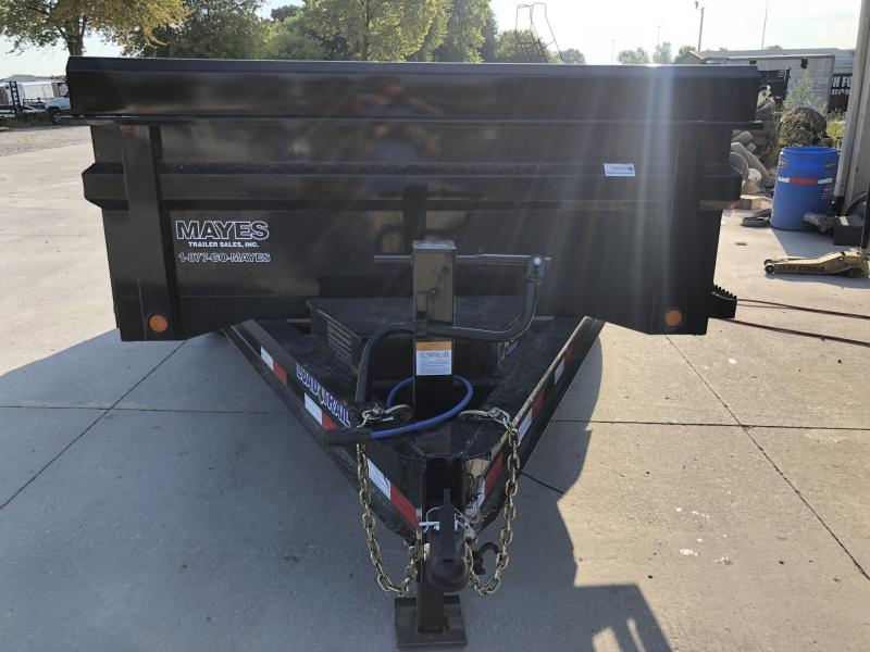 2020 83x14 TA Load Trail DT8314072 Dump Trailer - Scissor Hoist - Ramps - D-Rings (GVW:  14000)