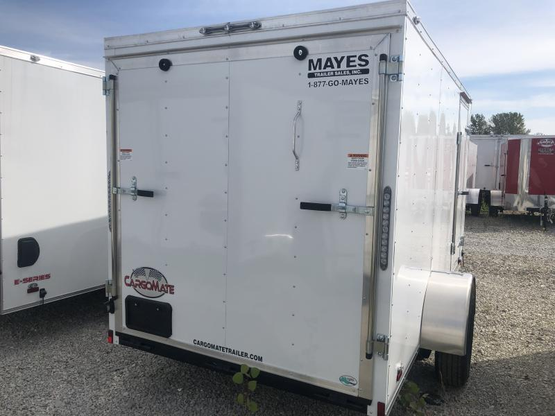 2020 6x12 SA Cargo Mate SS612SA Enclosed Cargo Trailer - Ramp Door - 6 Inch Additional Height (GVW:  2990)
