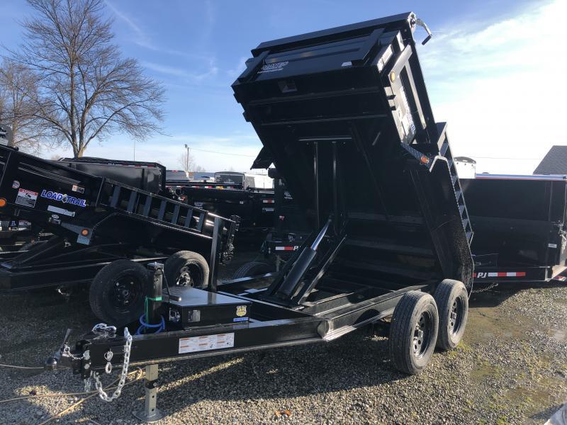 2019 5x10 Load Trail DT10 Dump Trailer - (Tarp Kit)(Split/Spreader Gate)(GVW: 7000)
