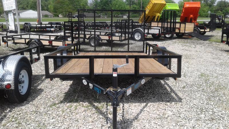 2019 76x10 SA American Manufacturing Operations (AMO) US101 Utility Trailer - Tailgate (GVW:  2990)