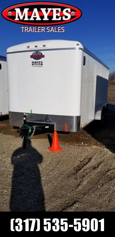 2019 7x16 Forest River BL716TA3 Enclosed Cargo Trailer - Ramp Door (GVW:  9800)
