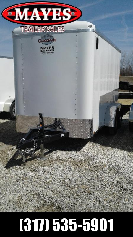 2020 6x12 Tandem Cargo Mate BL612TA2 Enclosed Cargo Trailer - Ramp Door - 6