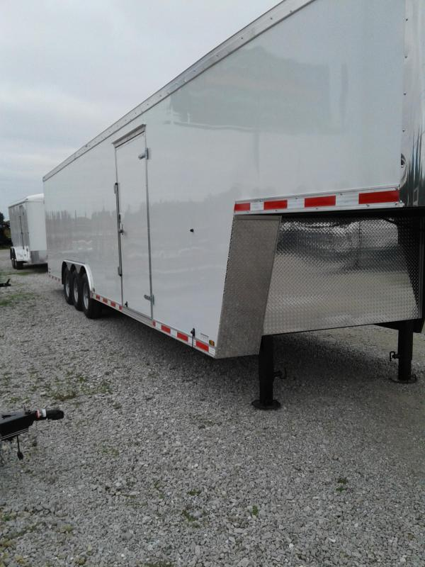 "2019 102x38  Forest River Inc. ELG8.538TTA5 Gooseneck Enclosed Cargo Trailer - Ramp - 6"" Add'l. Height (GVW:  21000)"