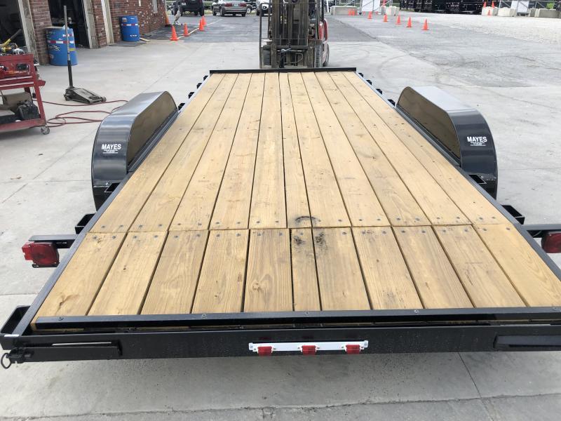 2020 82x18 (16+2) TA American Manufacturing Operations (AMO) UT182 Utility Trailer - Slide In Ramps (GVW:  7000)