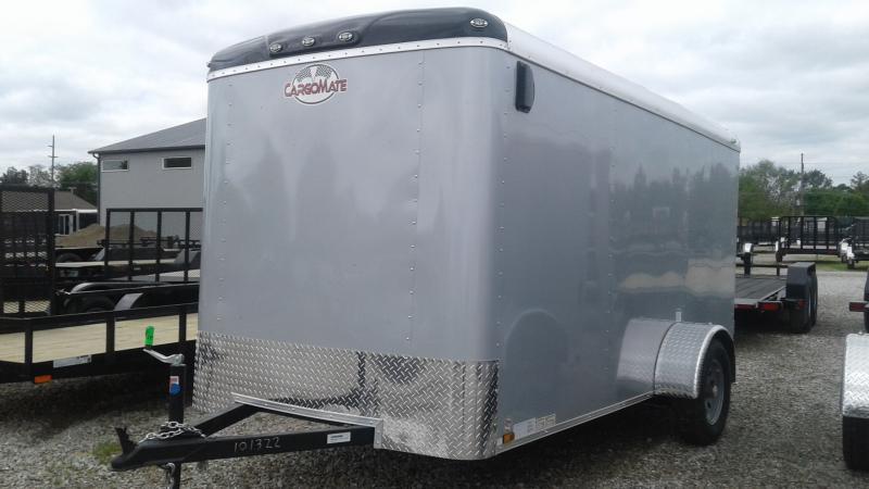2020 6x12 SA Cargo Mate BL612SA Enclosed Cargo Trailer - Ramp Door (GVW:  2990)