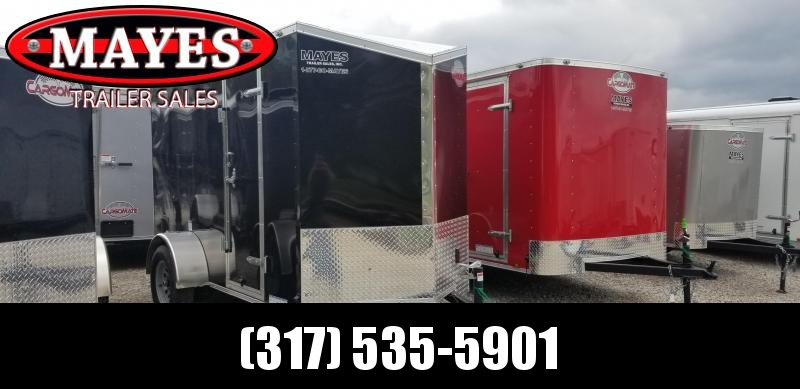 2019 5x10 SA Cargo Mate EHW510SA Enclosed Cargo Trailer - Ramp Door - 12