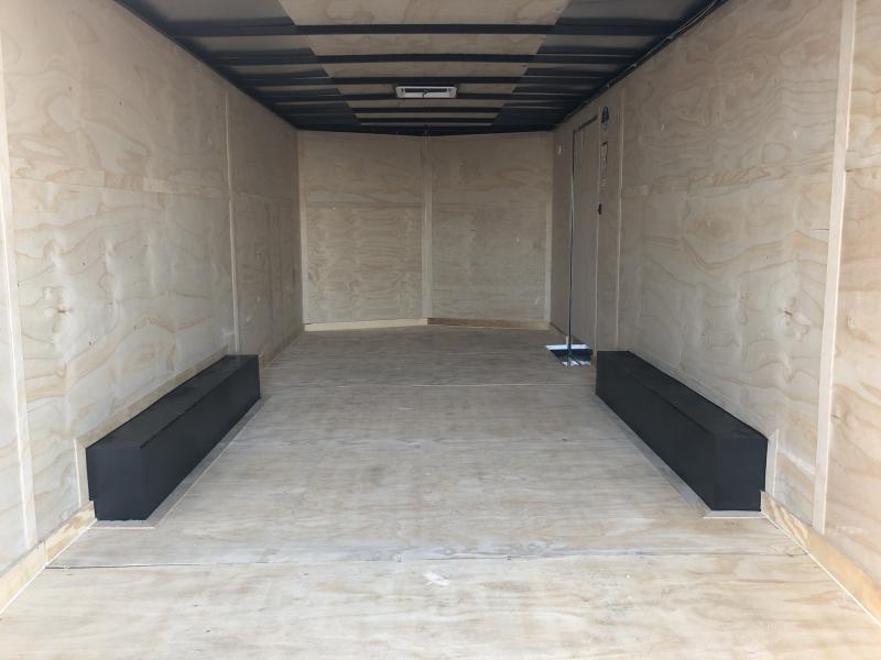 2019 102x20 Cargo Mate EHW8.520TA2 Enclosed Cargo Trailer - Ramp Door - Side Door (GVW:  7000#)