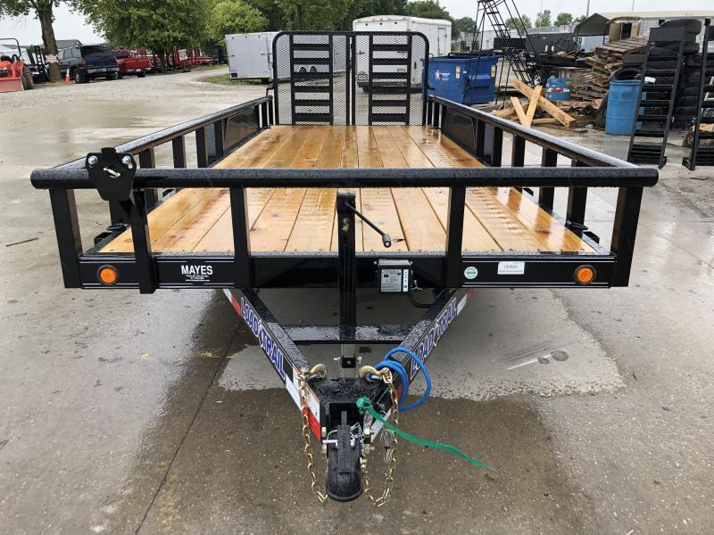 2019 83x20 Load Trail CS8320052 Car / Racing Trailer - Side Rails (GVW:  9990)