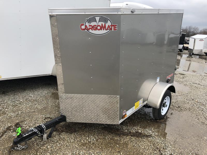 2019 4x6 Cargo Mate EHW46SA Cargo / Enclosed Trailer - Rear Swing Door (GVW: 2000) in Ashburn, VA