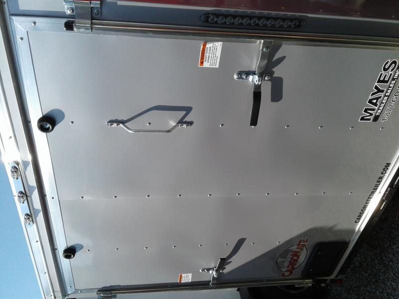 "2019 6x12 Cargo Mate SS612SA Enclosed Cargo Trailer - Diamond Ice (RD)(GVW: 2990)(6"" Extra Height)"