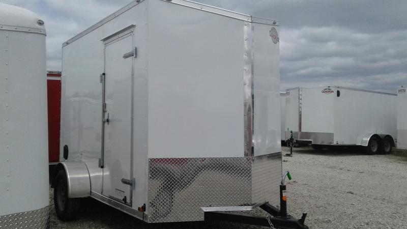 2020 6x10 SA Cargo Mate EHW610SA Enclosed Cargo Trailer - 12