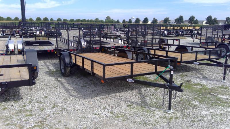 2020 76x14 SA American Manufacturing Operations (AMO) US141 Utility Trailer - Tailgate (GVW:  2990)