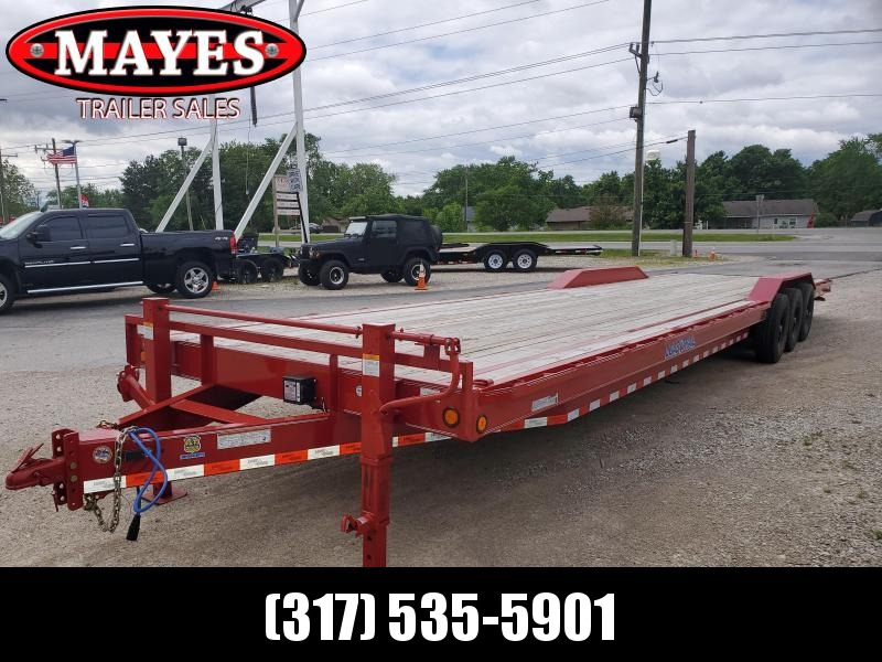 Used 2019 102x36 Triple Axle PJ Trailers CH023607317668 Equipment Trailer - Slide In Ramps