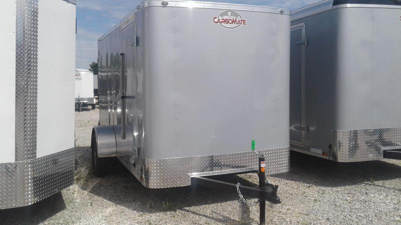 """2020 6x12 SA Cargo Mate SS612SA Enclosed Cargo Trailer - Double Door - 6"""" Additional Height (GVW:  2990)"""