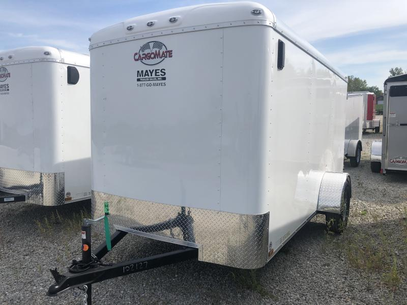 2020 6x12 SA Cargo Mate BL612SA Enclosed Cargo Trailer - Double Door (GVW:  2995)
