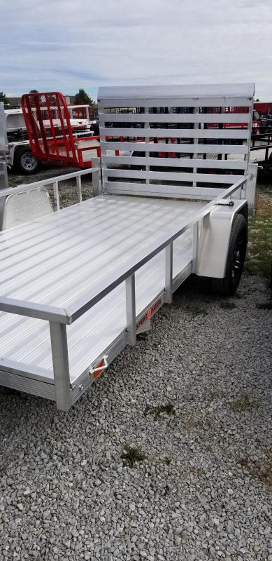 2018 6x12 Sport Haven AUT612D Utility Trailer - DLX w/ 4' Fold-In Gate (GVW: 2990)