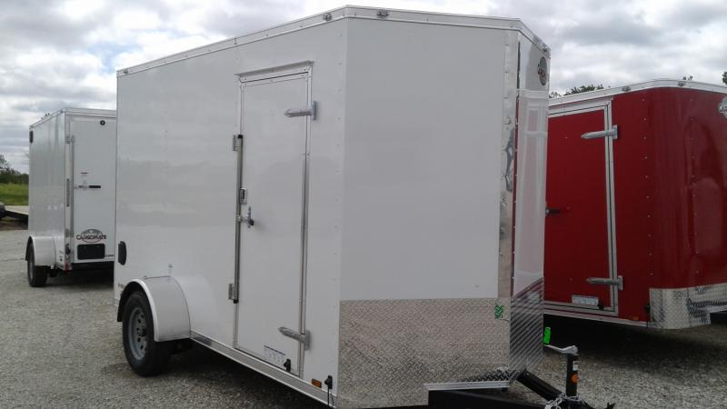 2020 6x12 SA Cargo Mate EHW612SA Enclosed Cargo Trailer  - Ramp Door - 12