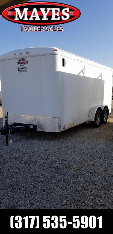2019 7x16 Cargo Mate BL716TA2 Enclosed Cargo Trailer - Double Door (GVW:  7000)