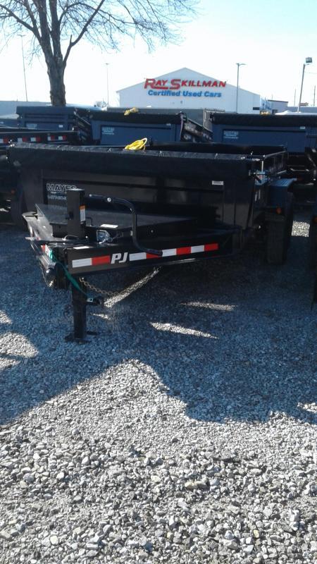 "2020 83x14 PJ Trailers 14' x 83"" Low Pro Dump Trailer - Spare Tire Mount - Tarp Kit (GVW:  14000) in Ashburn, VA"