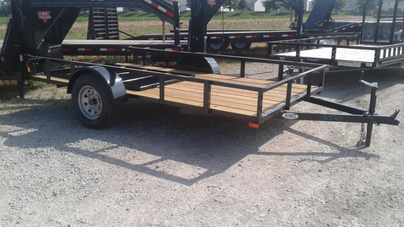 2019 76x12 American Manufacturing Operations (AMO) US121 Utility Trailer