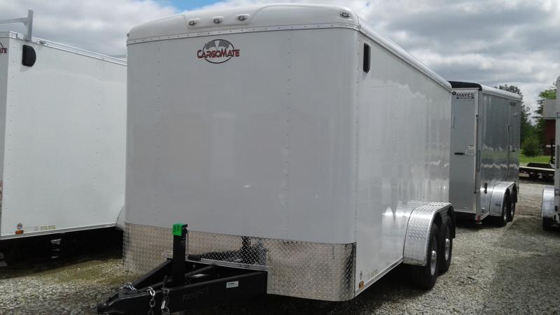 2020 7x14 TA Cargo Mate BL714TA3 Enclosed Cargo Trailer - Ramp Door - 54