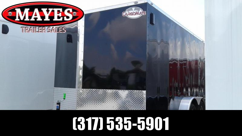 "2020 7x14 TA Cargo Mate EHW714TAW Enclosed Cargo Trailer - Ramp Door - Side by Side Pkg. - 6"" Additional Height - Slant V-Nose (GVW:  7000)"
